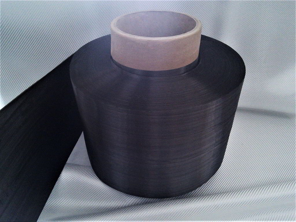 Bande de fibre de carbone<br> Largeur 20 cm<br> TC80U20