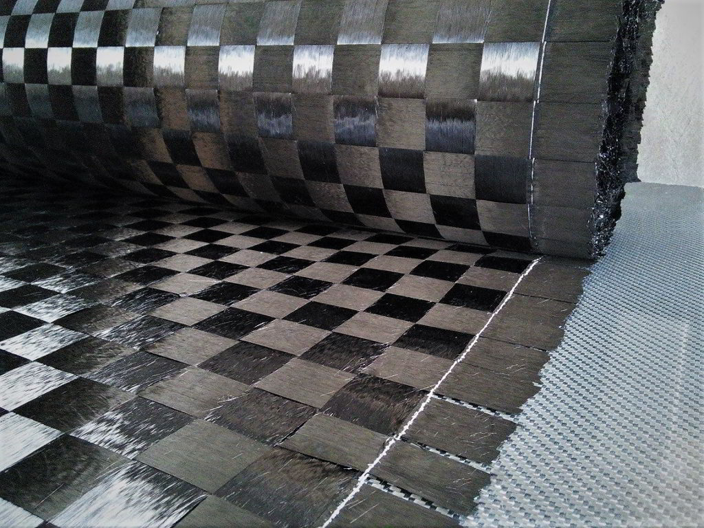 Carbon fiber fabric <br> C166P