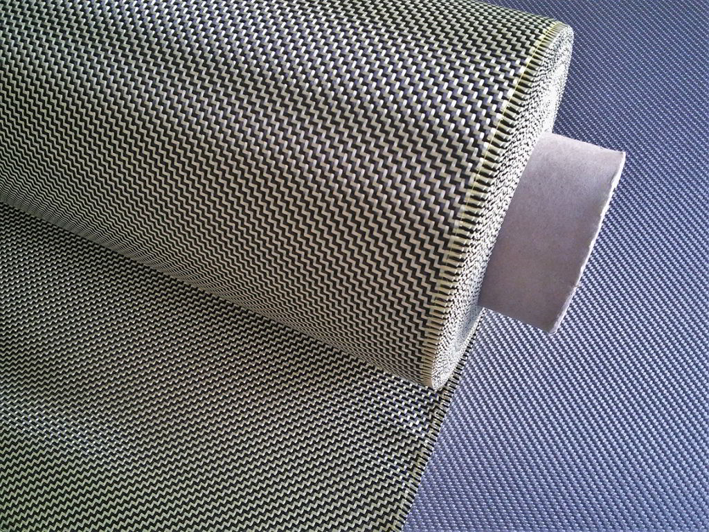 Carbon aramid fabric <br> CK210T2