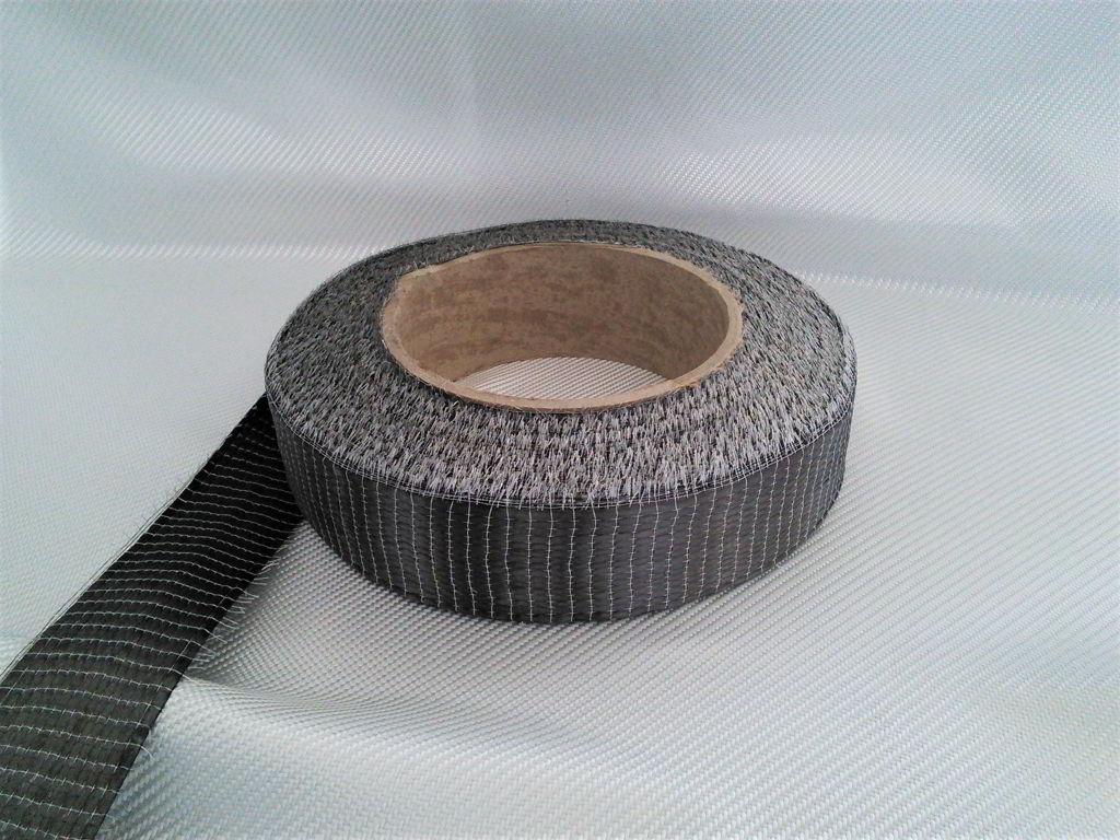 Carbon fiber tape roll<br> Width 5 cm<br>  CT1021U05