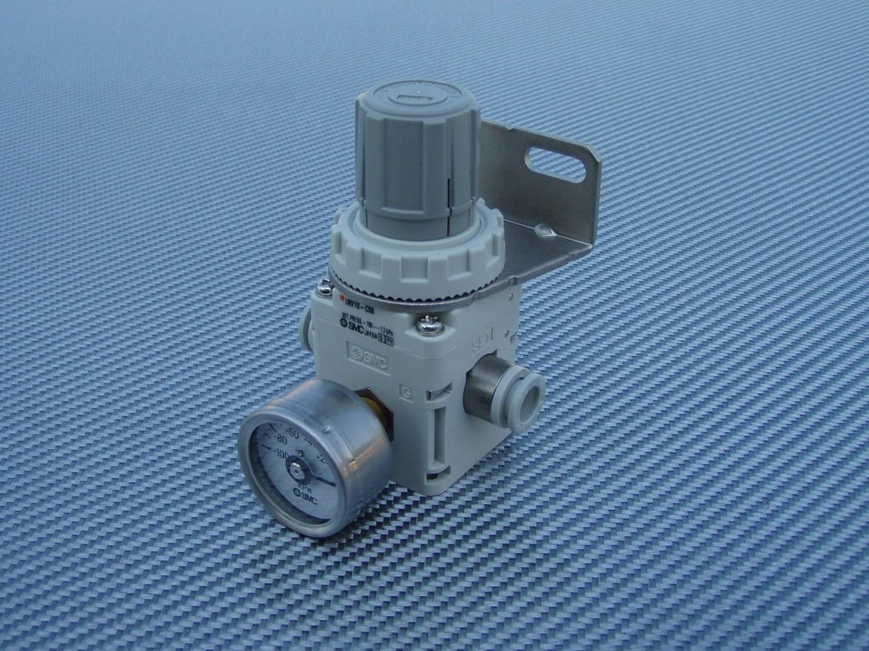 SMC vacuum regulator