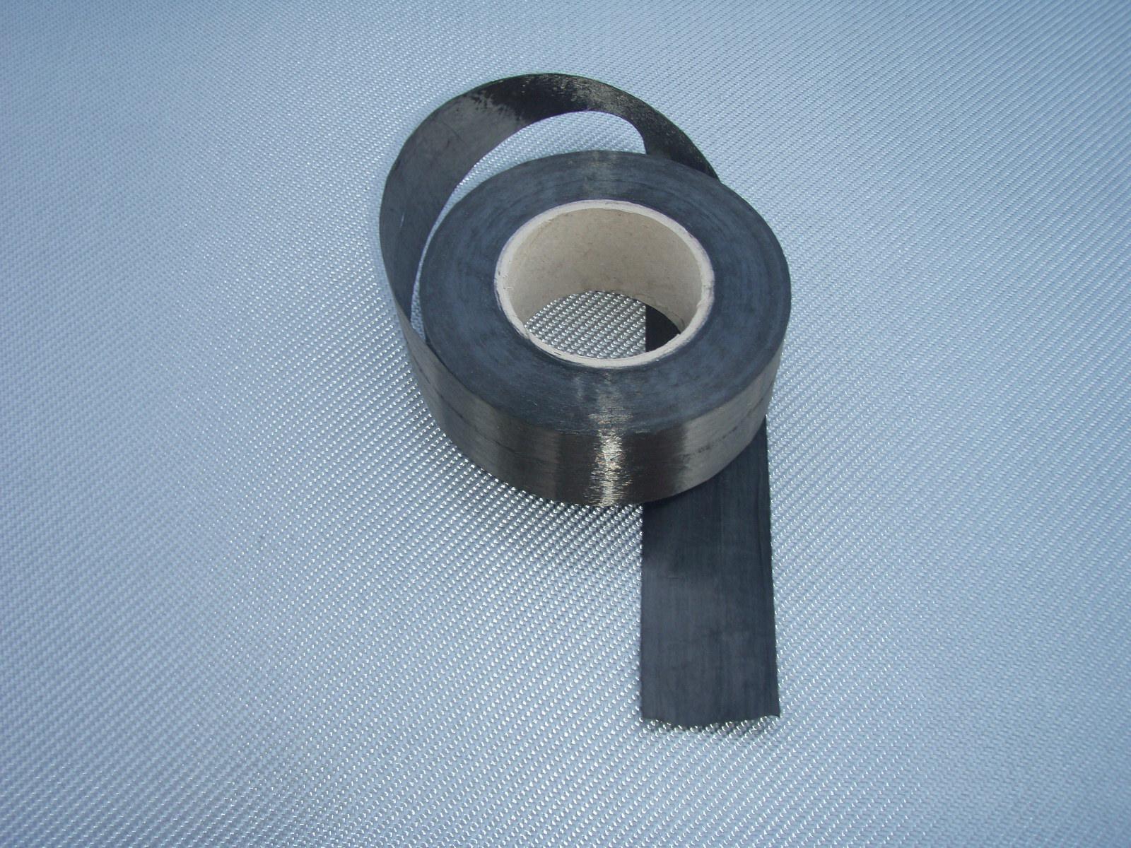 Carbon fiber tape roll<br> Width 5 cm<br>TC80U05