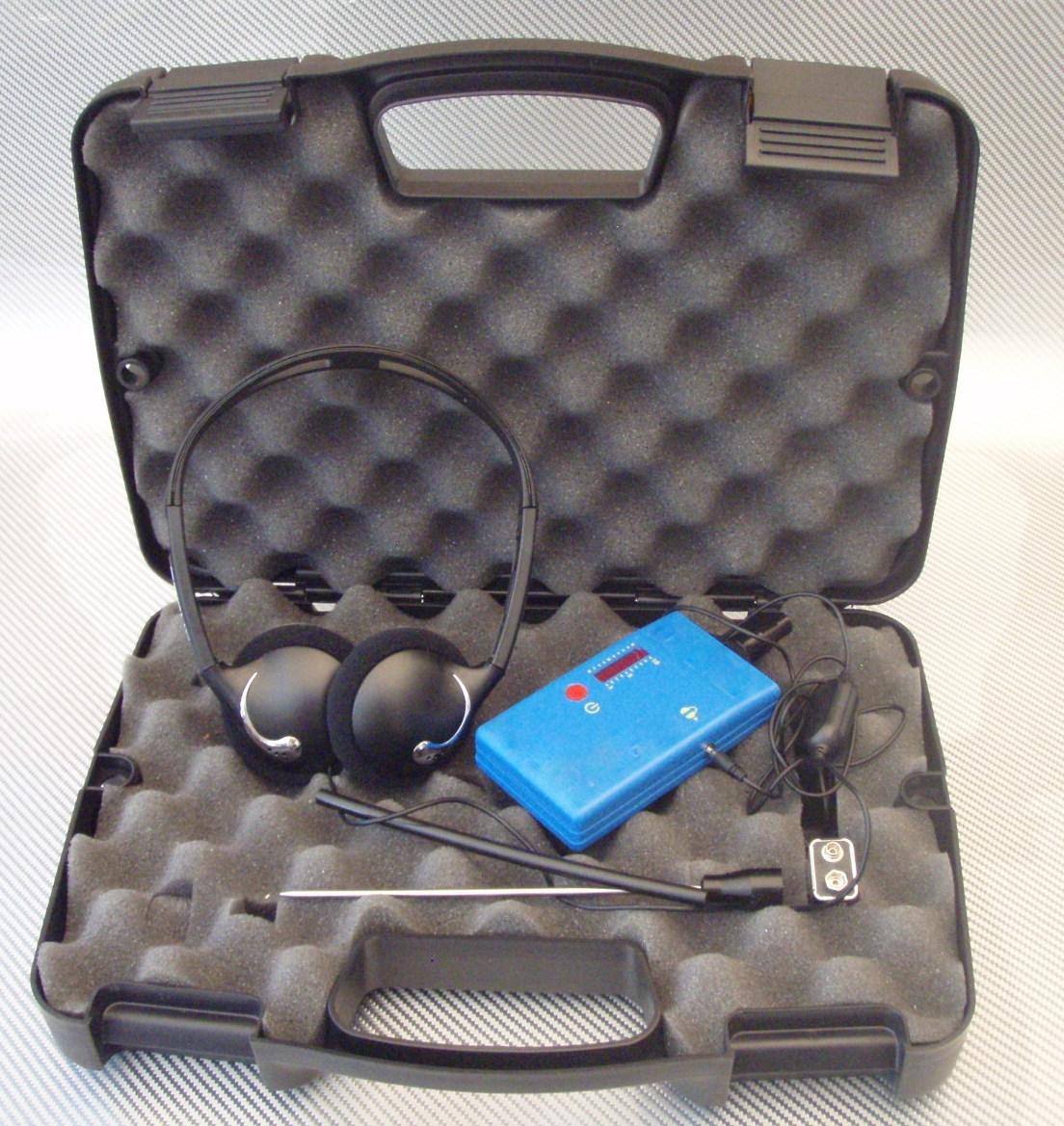 Ultrasonic leak detector <br>