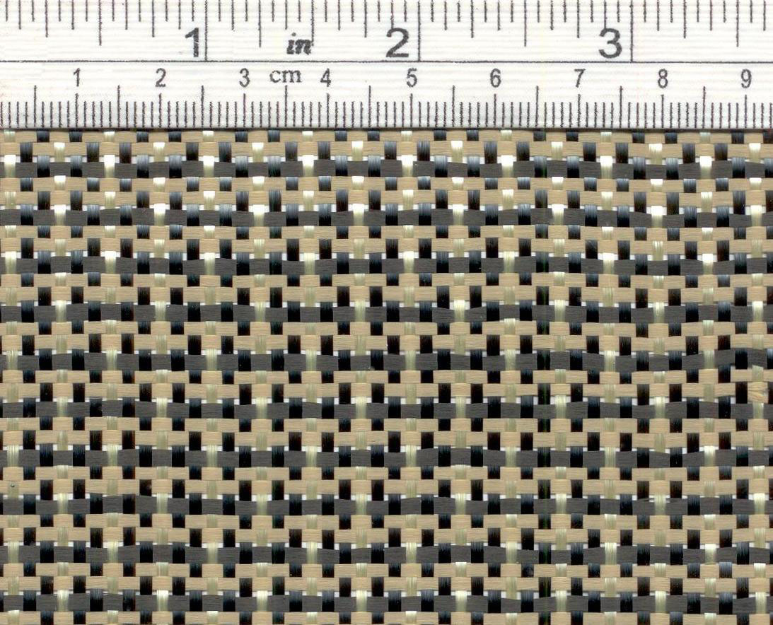 Carbon aramid fabric <br> CK170P