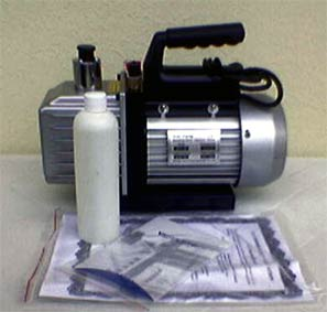 Vacuum pump, large