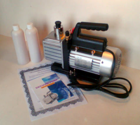Vacuum pump, medium