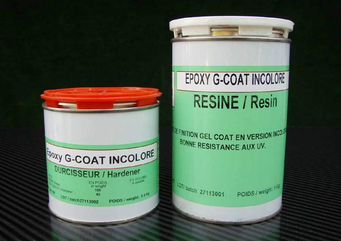 Epoxy gel coat <br> GCC/GCI